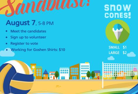 August First Friday: Sandblast!